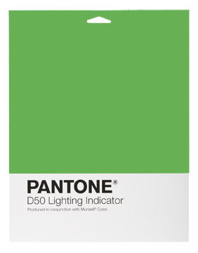 Индикатор освещения Pantone Lighting Indicator Stickers D50