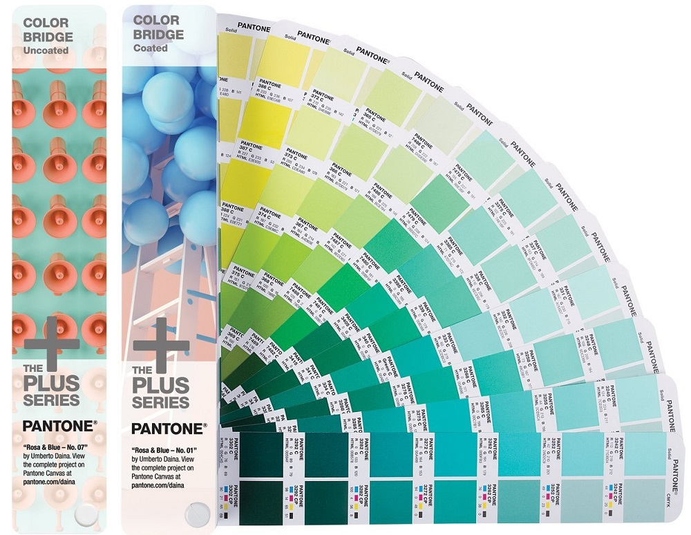 Цветовой справочник Pantone Color Bridge 2016 Set Coated/Uncoated