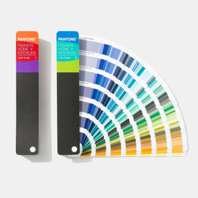 Цветовой справочник Pantone Fashion, Home + Interiors Color Guide 2020