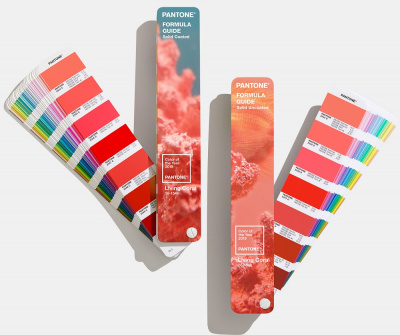 Цветовой справочник Pantone Formula Guide Limited Edition 2019 Living Coral