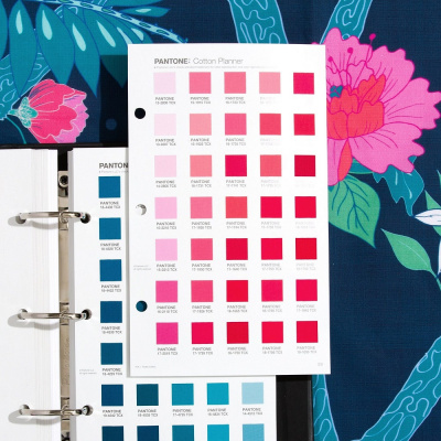 Цветовой справочник Pantone Fashion, Home + Interiors Cotton Planner